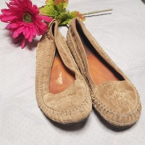 Lucky Brand leather moccasins